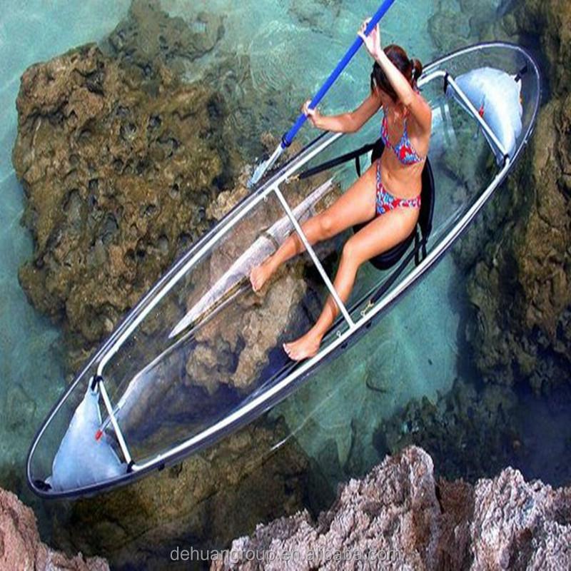 transparent kayak new design clear kayak complete transparent kayak
