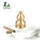 Chinese incense holder brass gourd shaped incense burner stand portable incense stick holder