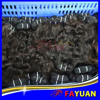 2014 best selling human hair weave steam processed full cuticle intact natural Brazilian hair weave