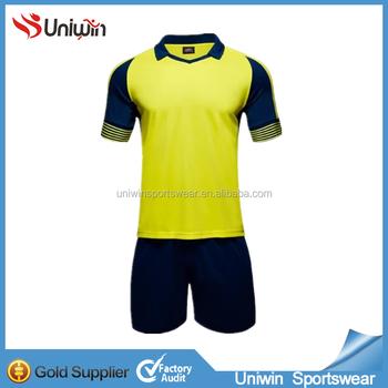 9d3e22e1f3d1 Wholesale No Logo Plain Soccer Jersey Customized Your Own Name Football  Shirt