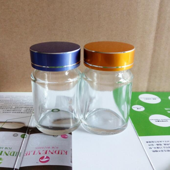 Low Price Amber Glass For Medicine Customized Capsule Bottle