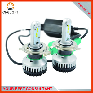 2016 Professional super bright 35w 3500lm H4 led Auto headlights headlamp with canbus driver for atv utv 4x4 car bus Motor