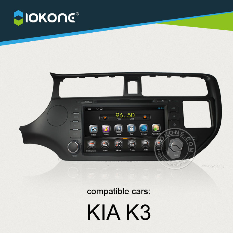 China factory provide OEM Android car media player For KIA Rio 2011 2012 with WIFI 3G GPS