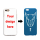 Custom Design Hard PC Smooth Pad Printing Mobile Phone Case For iPhone