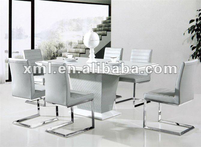 Marco de madera vidrio templado mesas de comedor y sillas - Mesas de vidrio templado ...