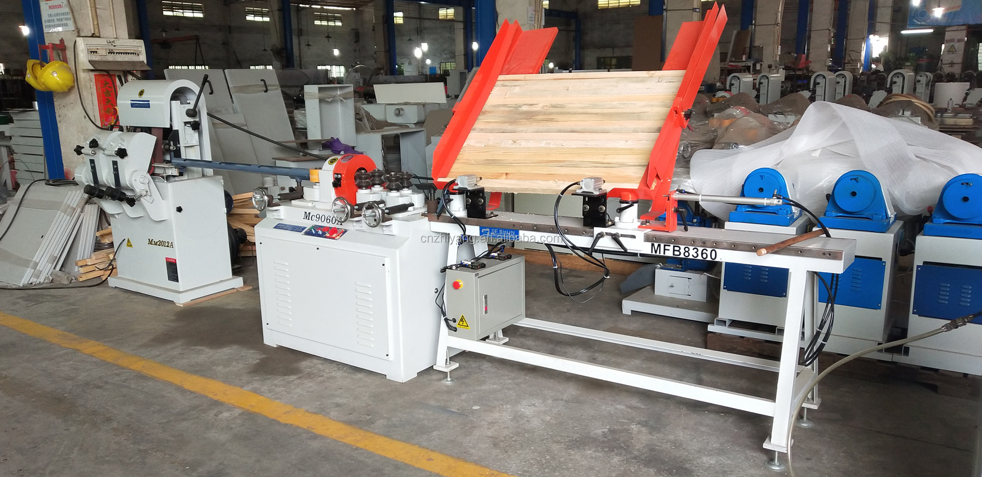 wooden handle making machine production line