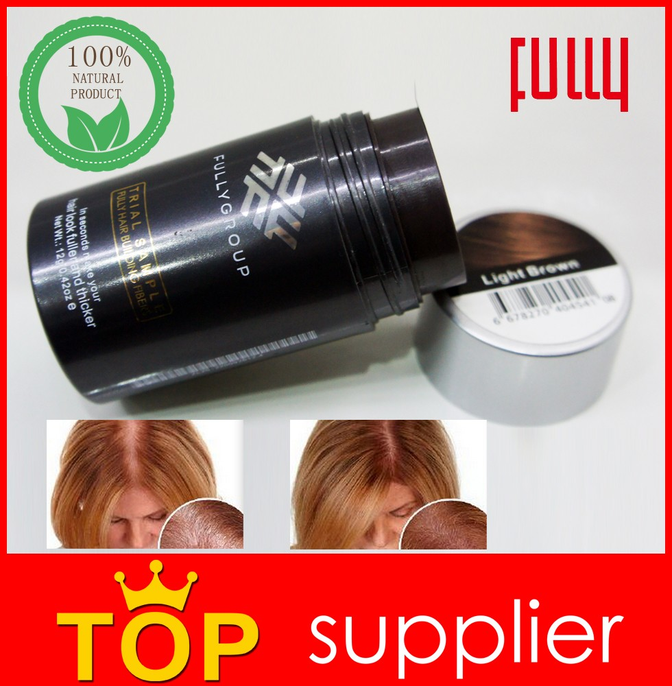 2017 new arrival hair loss solution fully natural hair building fibers powder