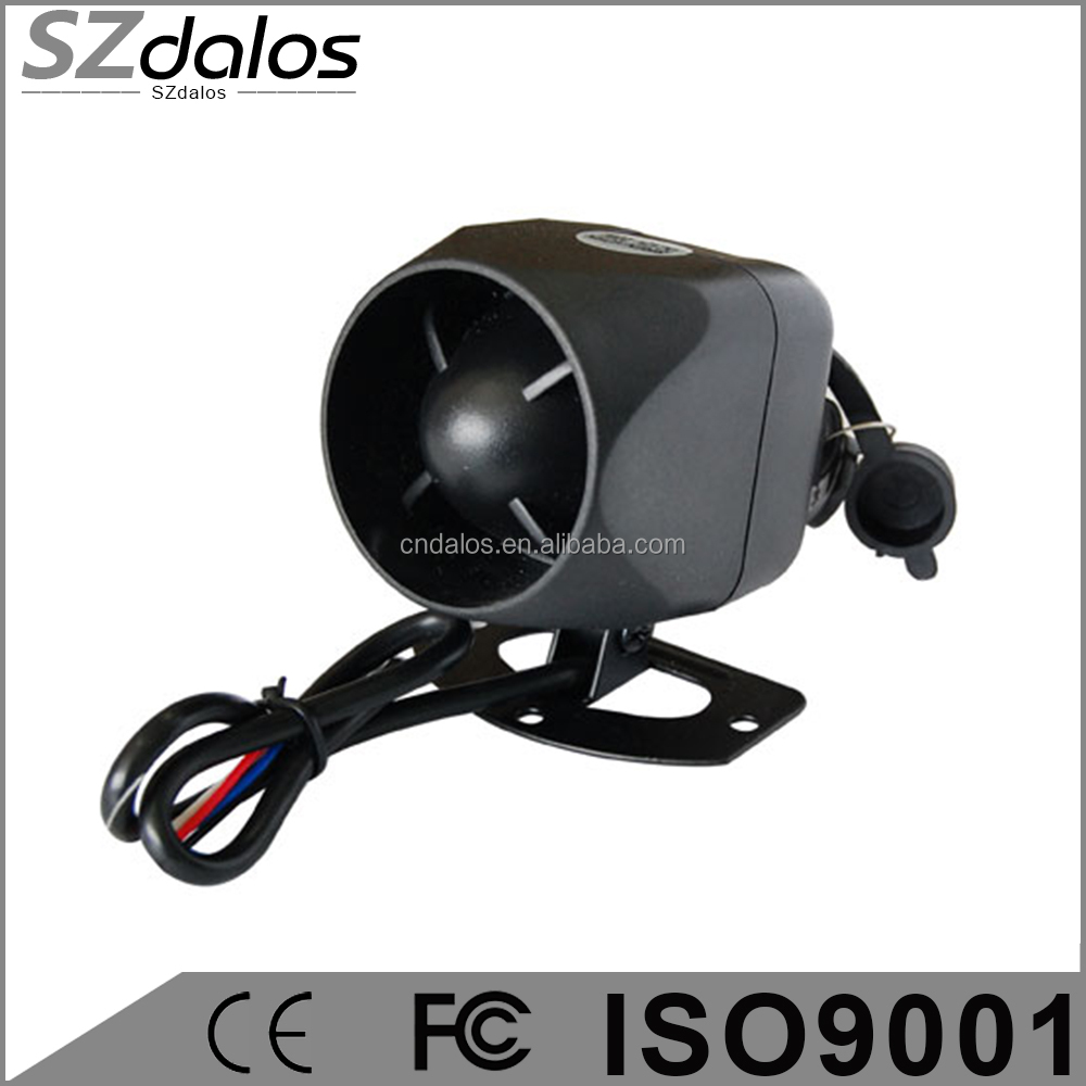 Auto & Motorcycle Universal Loud Electronic Horn