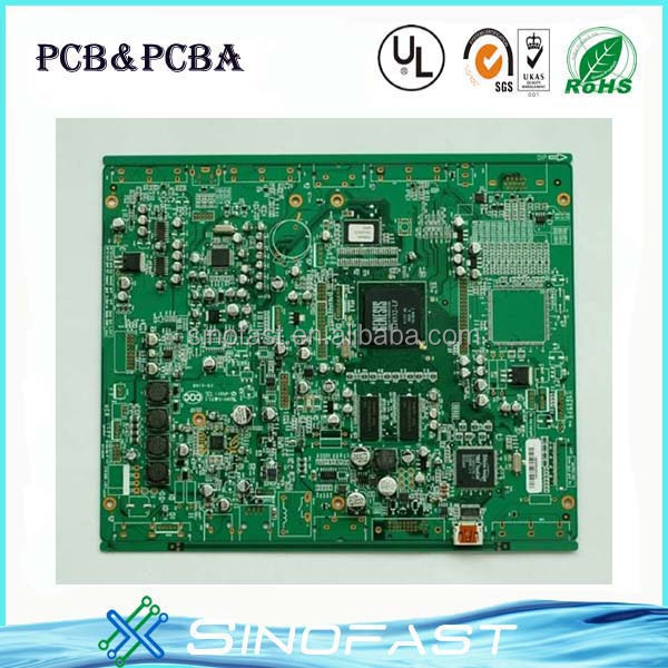 customized hasl usb sata pcb with gerber file , best quotation to you
