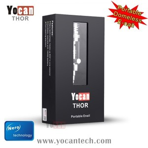 Eco-friendly materials No wicks or coils Yocan THOR yocan thor atomizer  with nero technology up to 1300F less than 1 second