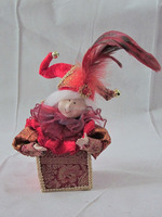 wholesale christmas accessories high quality fashion gift christmas angel doll