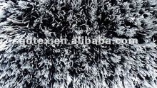 polyester shiny silk shaggy rugs