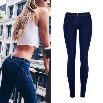 jeans sexys de talla grande