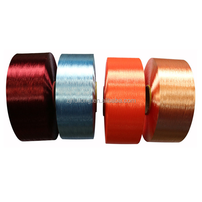 FDY 100D/36F dope dyed polyester kevlar filament yarn