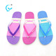 Fancy summer slipper flat sandal with jelly strap flip flops shoes