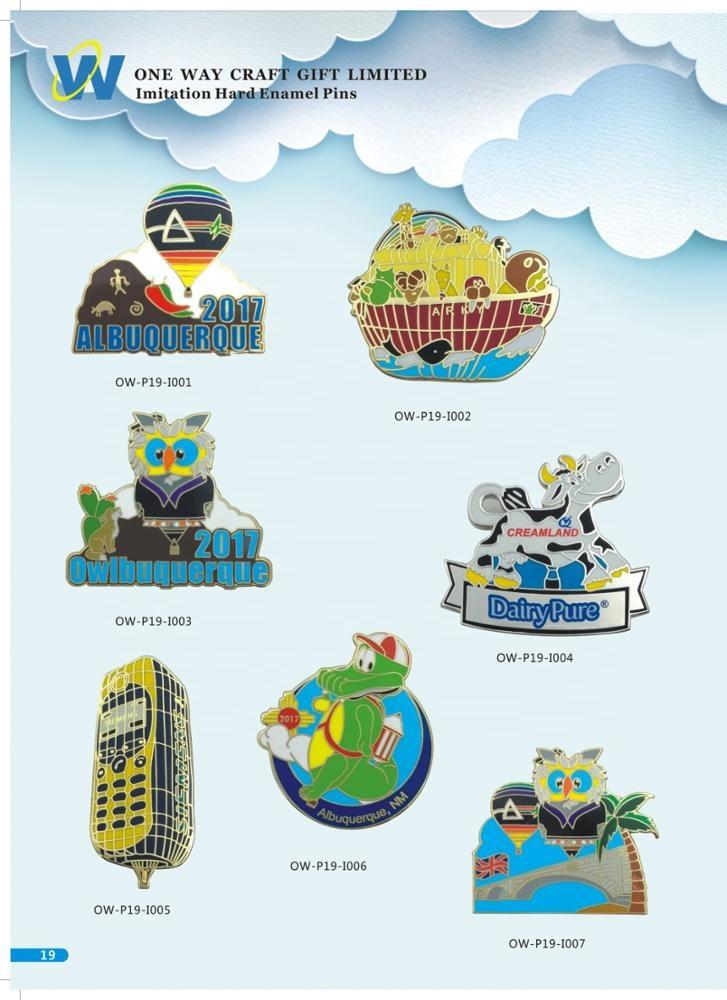 customized design cheap enamel blank bulk lapel pin manufacturers china