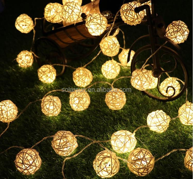 Ball/Copper Wire/String LED fairy lights for Christmas