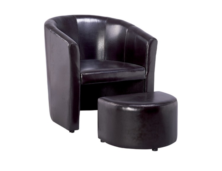 Tub Chair Home FurnitureRecliner Living Room Chairs Accent Chair - Tub chairs leather