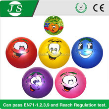 Fashionable top sell 4 inches plastic solid ball