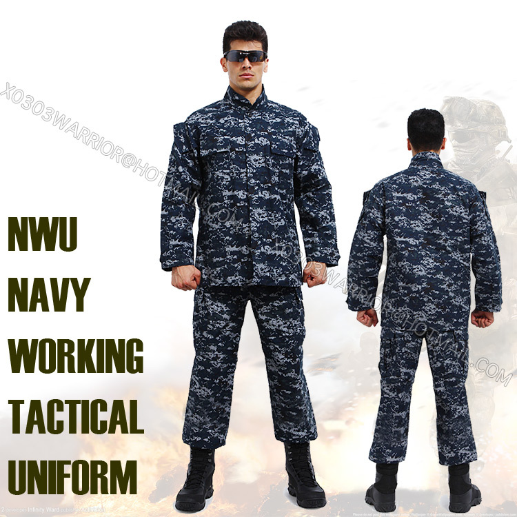 Navy Digital Blue Uniform 118
