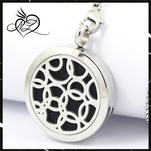 Charmsstory Star Aromatherapy Essential Oil Diffuser Necklace ...