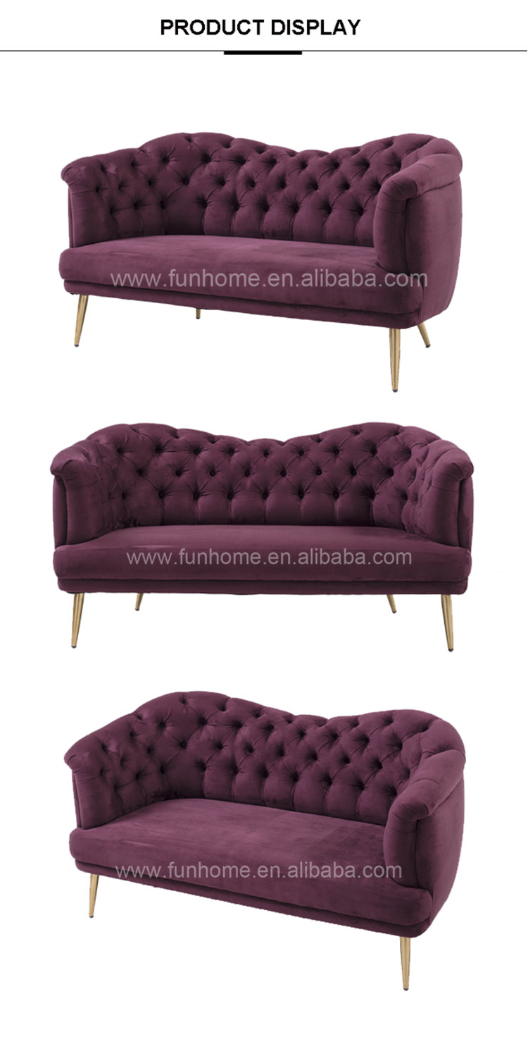 Furniture Living Room Sofa Set Event Sofa Chesterfield for Sale