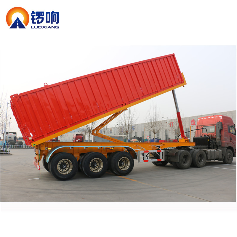 Rear Type Damper Tipper Dumper Truck Trailer for Sale