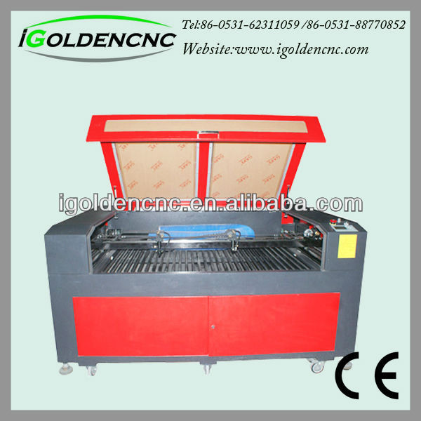 CCD camera laser cutter machine for labels badges