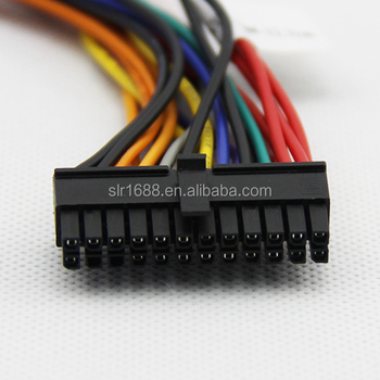 5v 12v power 20 pin to 24 pin atx power cable5v 12v power 20 pin to 24 pin atx power cable