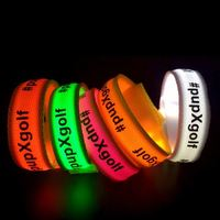 Sound Sensor 2019 New Year Flashing Happy Music Led Bracelet