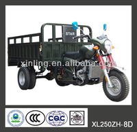 150cc 200cc 250cc close cabin cargo tricycle /closed Tricycle/ three wheel motorcycle 3-series