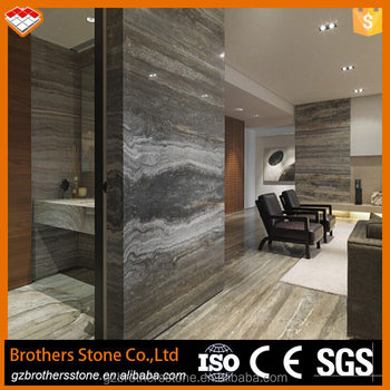 Natural Stone Supplier Grey Travertive Marble Wall Tile Buy Silver
