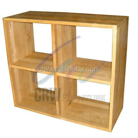 oa 4042 moderne tag re ch ne massif meubles de cube meubles en bois id de produit 506591860. Black Bedroom Furniture Sets. Home Design Ideas