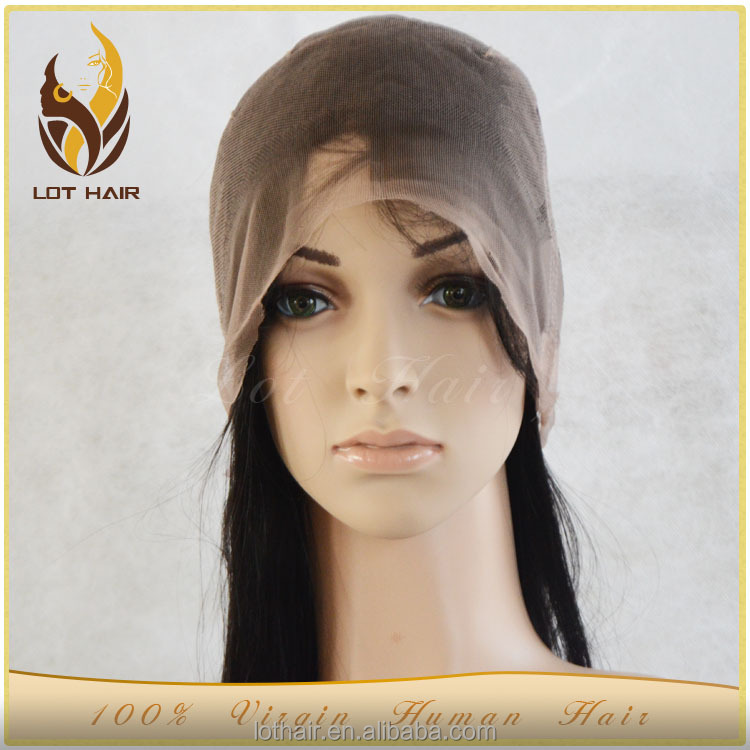 Top quality beauty style hot selling 100% unprocessed human hair wig