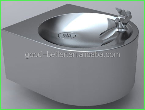 2014 Hot Selling Double Basin Wall Mounted Indoor Drinking Water Fountain