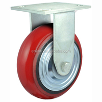 cast iron core arc pu heavy duty caster wheel,load capacity from 340 to 480 kgs