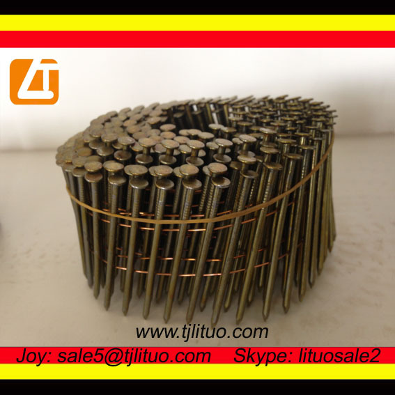 professional suply twisted and plain shank roofing nails