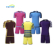 Wholesale sublimated cheap blank full set soccer uniform