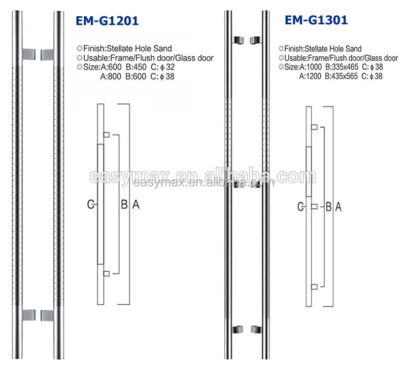 Door handle height leaf door should be in accordance for Door handle height