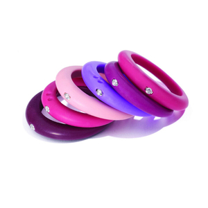 Silicone wedding ring for lover wedding band for women