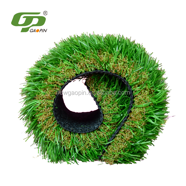 PE+PP garden landscape fake turf synthetic grass for soccer fields