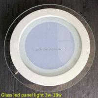 Top quality factory direct price round led panel light, recessed led round panel lamp, led ceiling down light