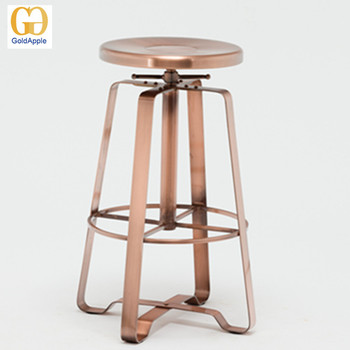 Prime Commercial Industrial Furniture Metal Backless Swivel Bar Stool Adjustable Counter Stools Buy Counter Stools Stools Adjustable Counter Stool Machost Co Dining Chair Design Ideas Machostcouk