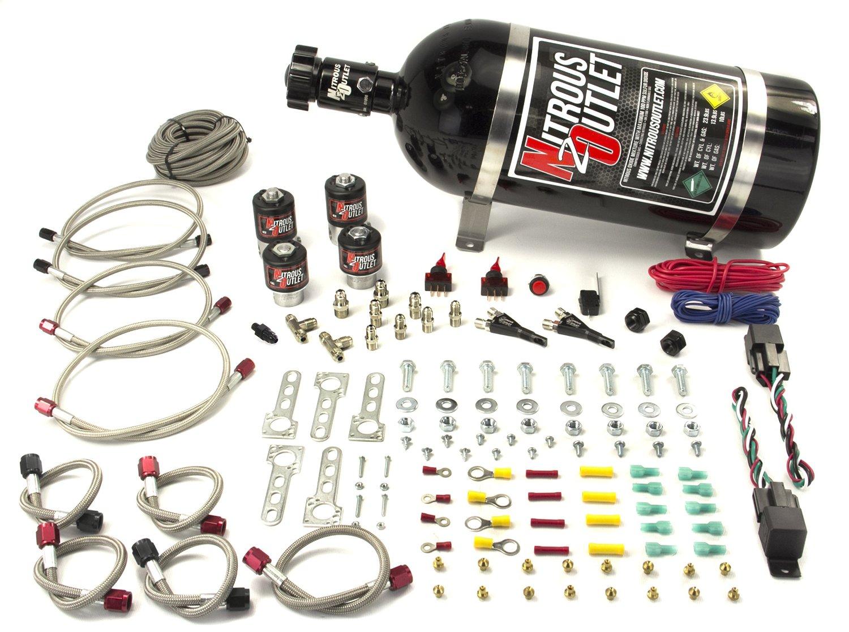 Nitrous Outlet Ford EFI Dual Stage Single Nozzle (10lb Bottle)