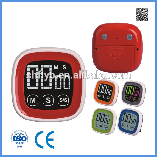 Brand New LCD Digital Kitchen Timer Magnetic Cooking Count Down Up Clear  Loud Alarm