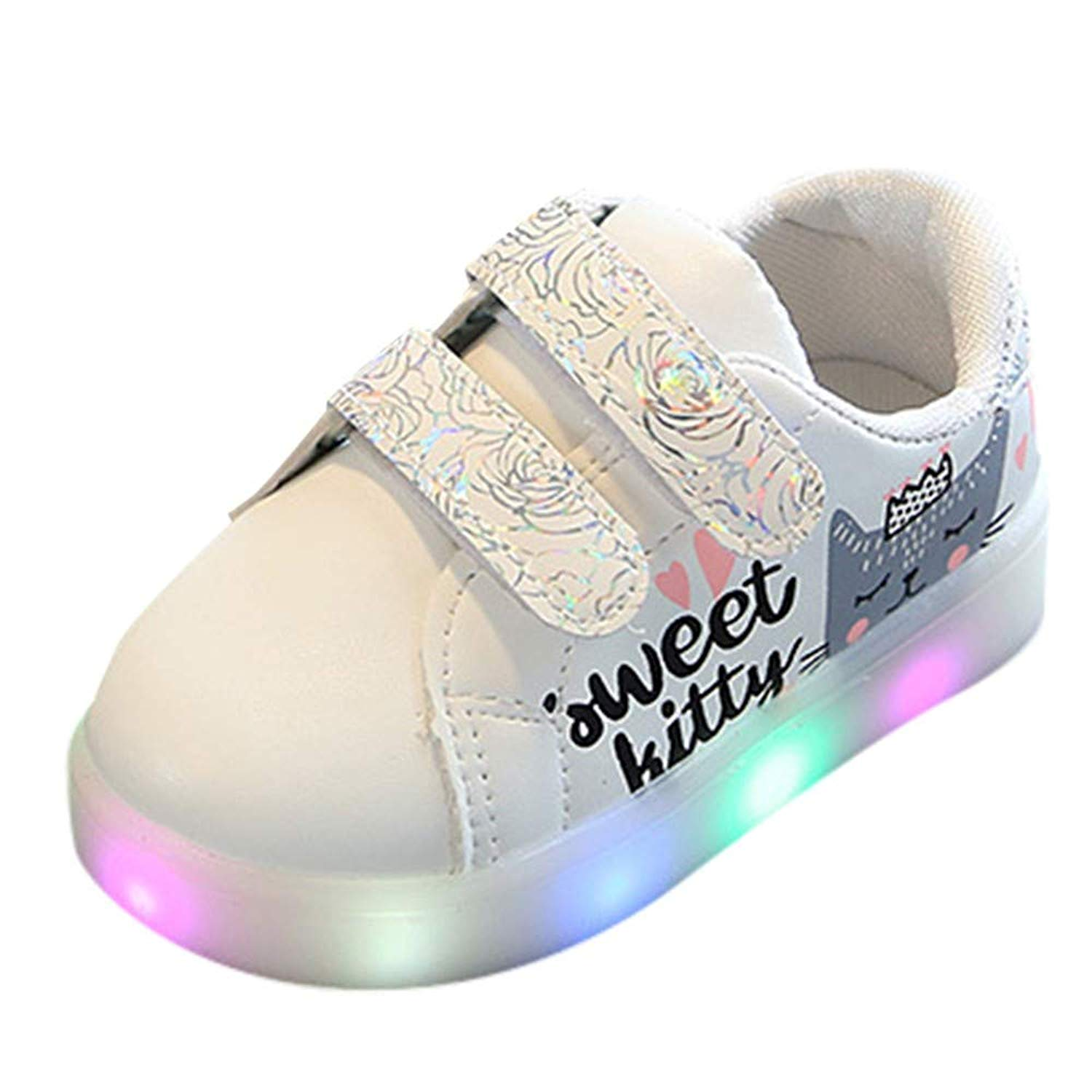 Kids Sneakers Cute Dog Original Slip-On Shallow Loafers Elastic Sport Flyknit Shoes