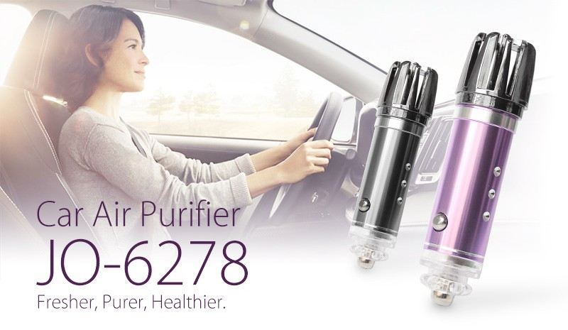 2017 The Latest Best Selling Products ( Mini Ionizer Car Air Purifier JO- 6278)