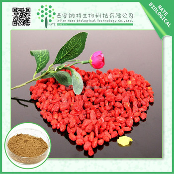 Hot selling Chinese Goji Berry extract 10% Polysacchrides with nice quality