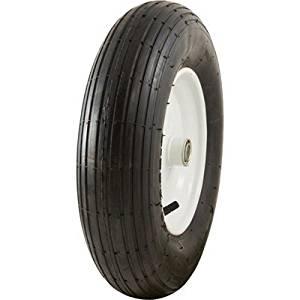 Marathon Tires Pneumatic Wheelbarrow Tire - 3/4in. Bore, 4.80/4.00-8in.