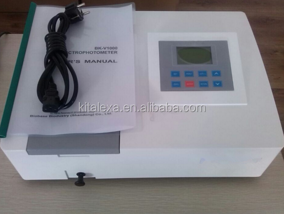 Double Beam Spectrophotometer Used on Ventilation Lab Hood/Exhaust System Furniture
